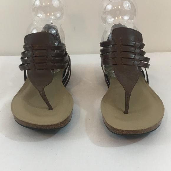 competitive price buy best new specials me too Shoes | Brown Leather Gladiator Sandals New 6 | Poshmark